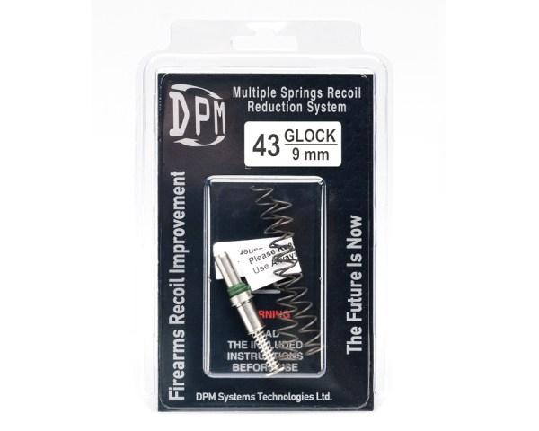 DPM pružiny pre Glock43
