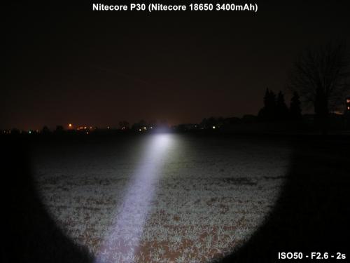 Svietidlo NITECORE P30