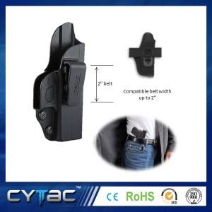 Pištoľové opaskové púzdro Cytac na skryté nosenie pre Glock 43