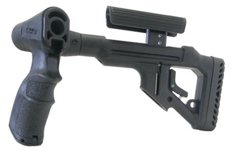 Tactical Folding Butt Stock for Remington 870 w/ Cheek Piece