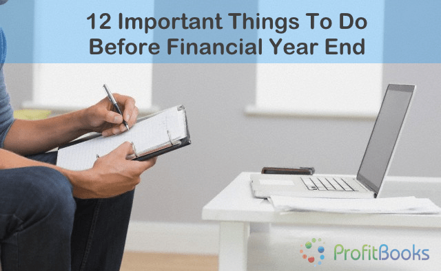 Financial year end checklist