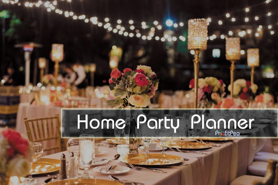 Work For Yourself: Home Party Planner