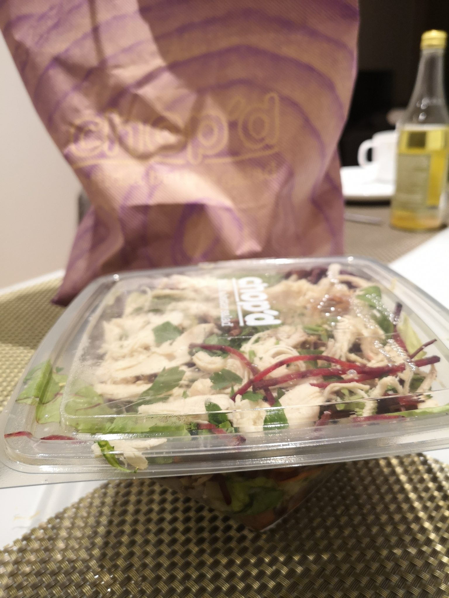Too Good To Go Food Review - Chop'd, St Pancras
