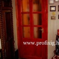 Mahagóni színű beltéri ajtó