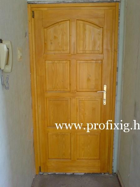 Lakótelepi bejárati ajtó, panel bejárati ajtó - Profixig Team Kft.