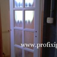 Fehér beltéri ajtó készítés