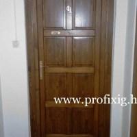 panel bejárati ajtó