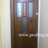 9 kazettás fa bejárati ajtó