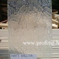 matt delta üveg