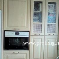 Vanília színű konyhabútor