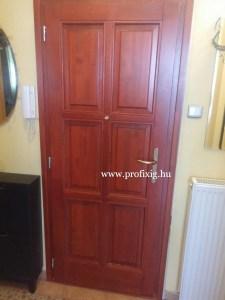 Fa bejárati ajtó gyártás