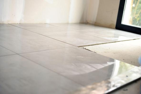 to install tile floors