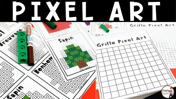 Pixel art un papillon à colorier sur une grille beading. Pixel Art Archives Prof Numeric