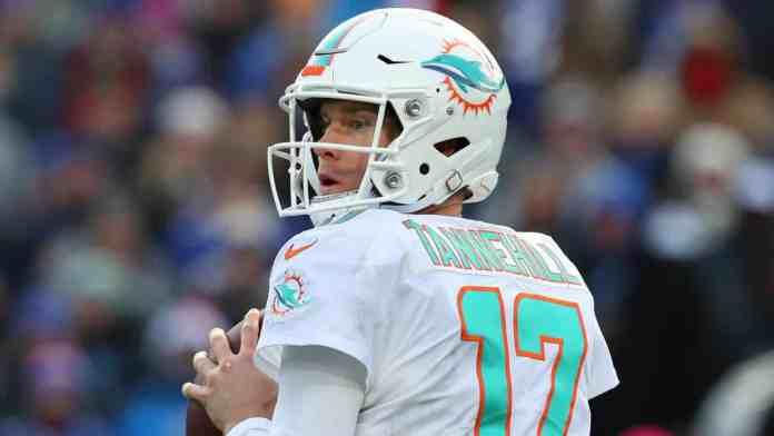 Miami Dolphins Ryan Tannehill