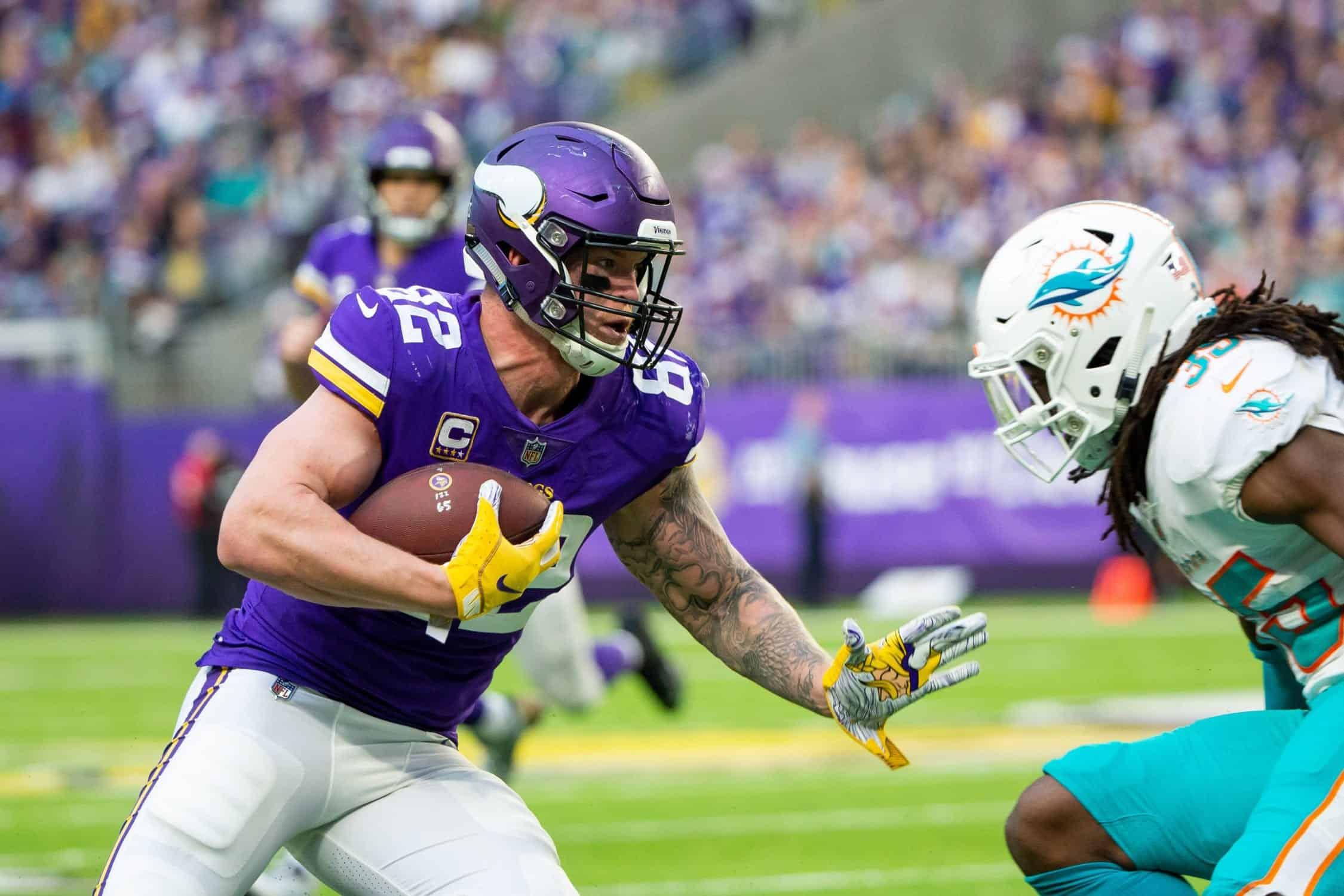 promo code 01b25 f6bc3 Minnesota Vikings: Kyle Rudolph on borrowed time as rookie ...