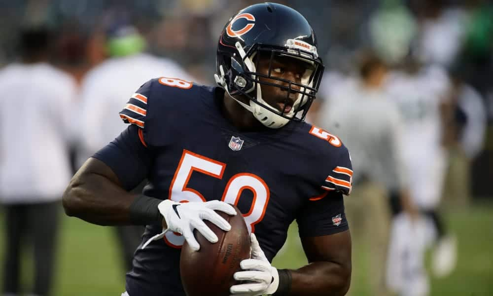 competitive price ddba0 37479 Chicago Bears: Roquan Smith is the next star at inside ...