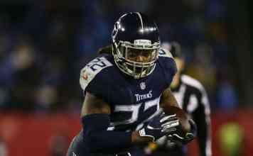 Running back Derrick Henry