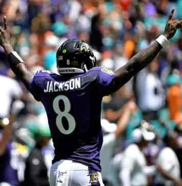 Lamar Jackson - Baltimore Ravens - NFL Week 6