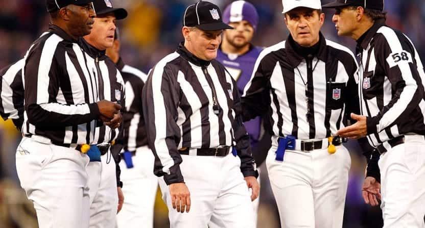 NFL officiating problems