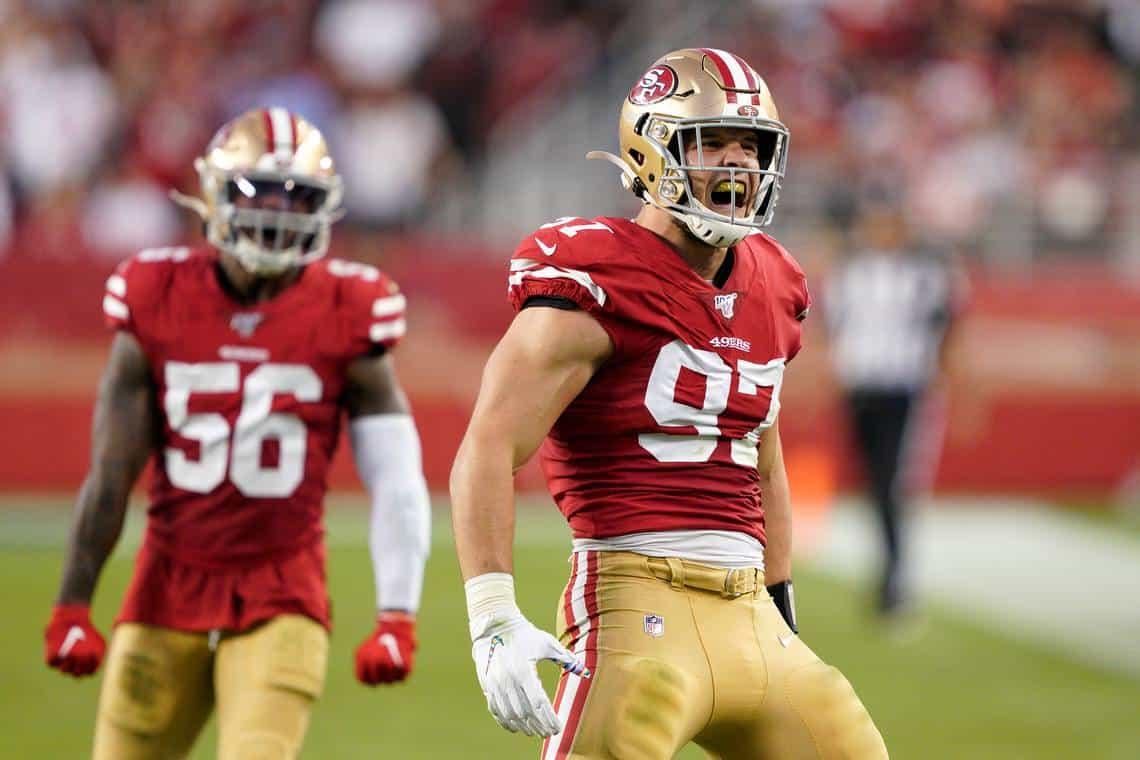 2019 NFL Draft: Nick Bosa again leads NFL Week 7 stock report