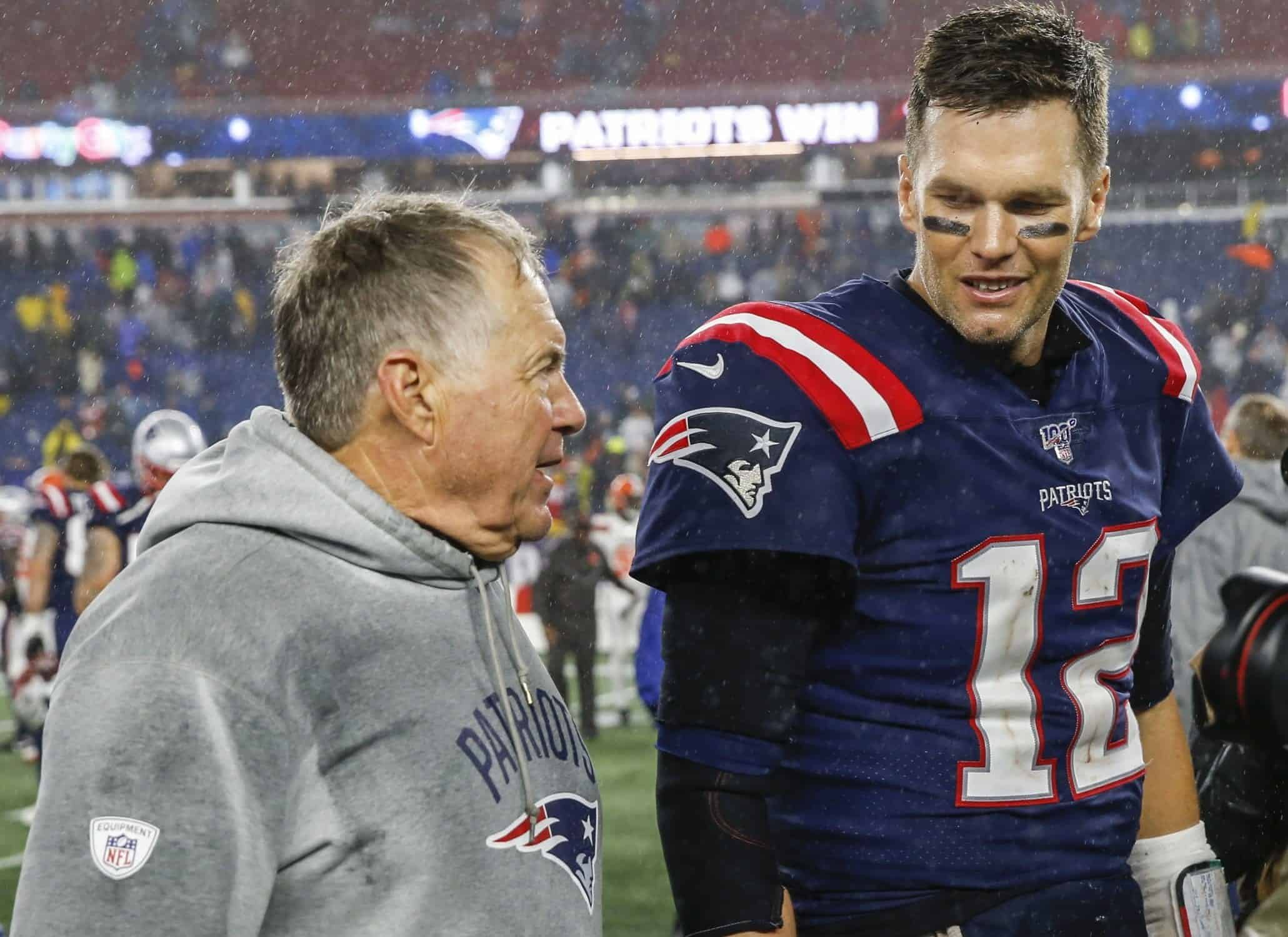 The New England Patriots top our latest 2019 NFL power rankings week 8