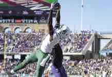 Baylor Bears wide receiver Denzel Mims underrated