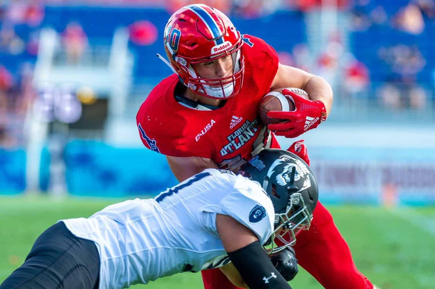 At the 2020 Reese's Senior Bowl, FAU tight end Harrison Bryant is one of three under-the-radar sleepers to watch