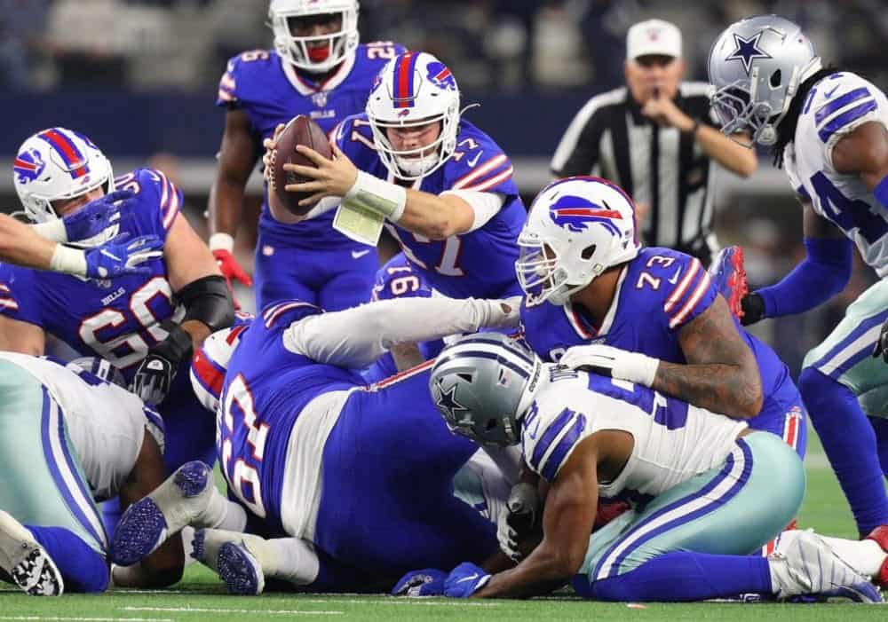 Josh Allen earning recognition for Buffalo Bills 2019 season success