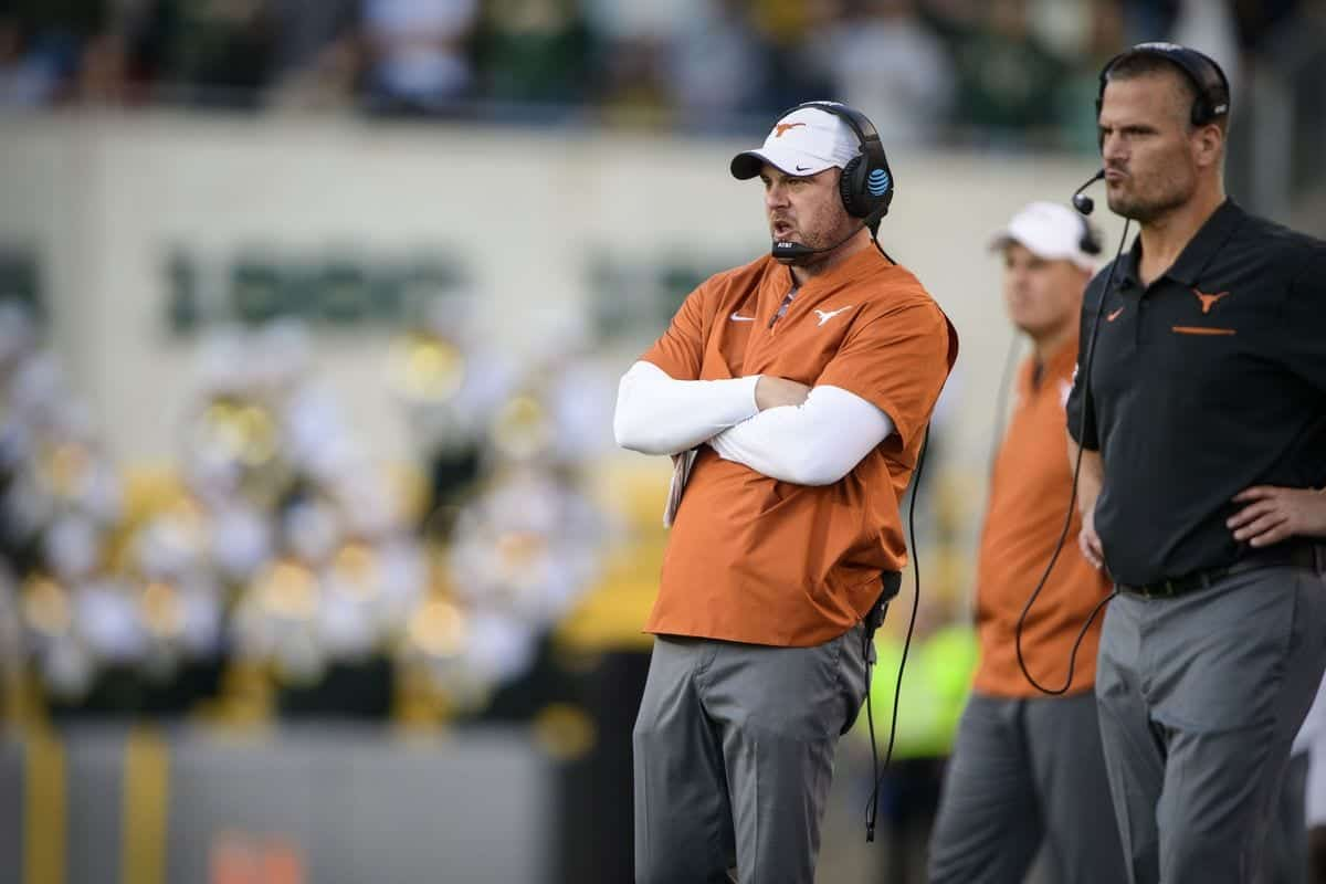 Coaching staff replacements Texas Longhorns