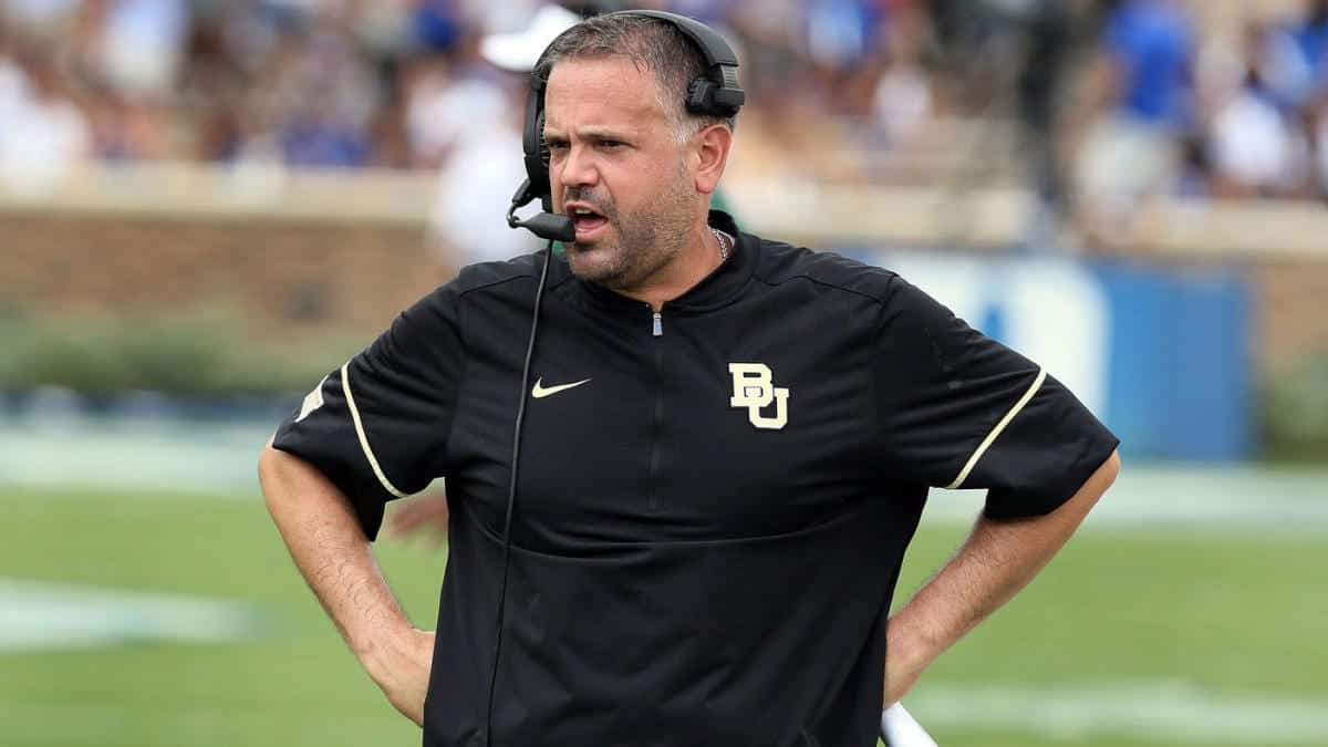 Matt Rhule: After rebuilding Bears & Owls, can he rebuild the ...