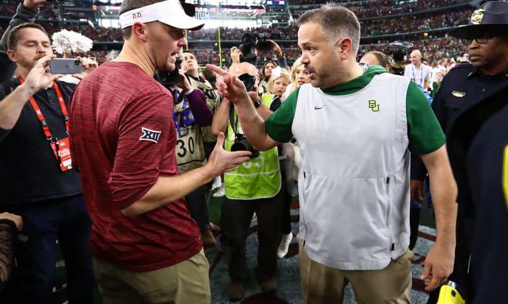 Will Lincoln Riley, Matt Rhule, or Urban Meyer be the next head coach of the Dallas Cowboys?