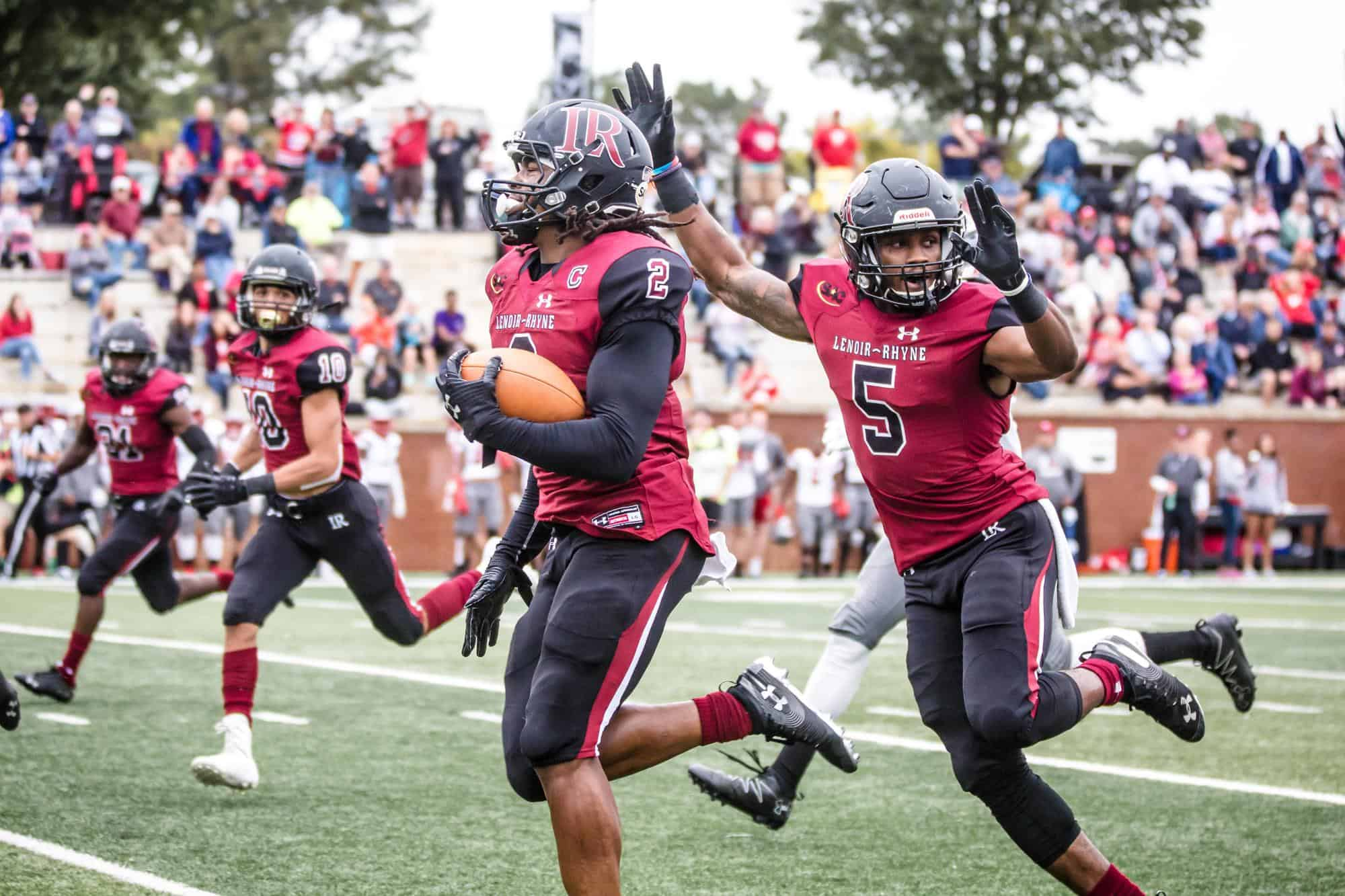 Lenoir-Rhyne safety Kyle Dugger becoming an elite draft prospect