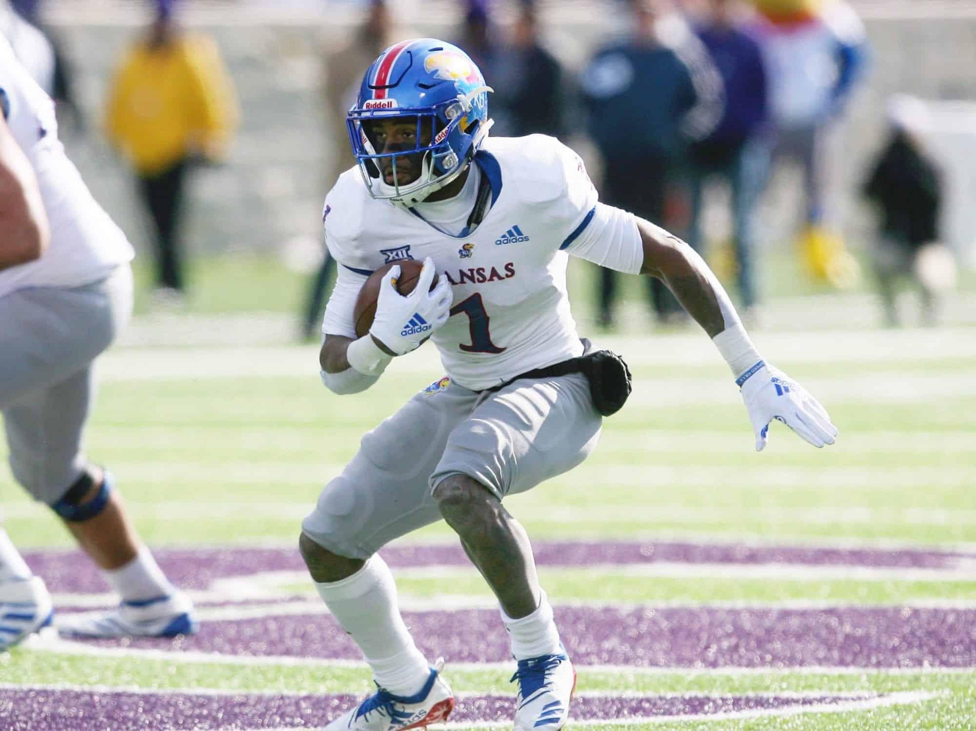 2021 NFL Draft: Kansas Running Back Pooka Williams is a top sleeper