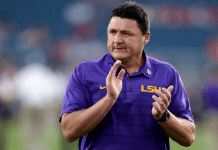 The roster rebuild challenge facing LSU coach Ed Orgeron