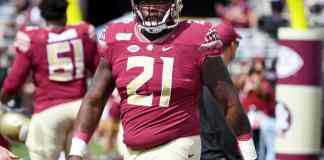 Marvin Wilson is FSU's top prospect in the 2021 NFL Draft