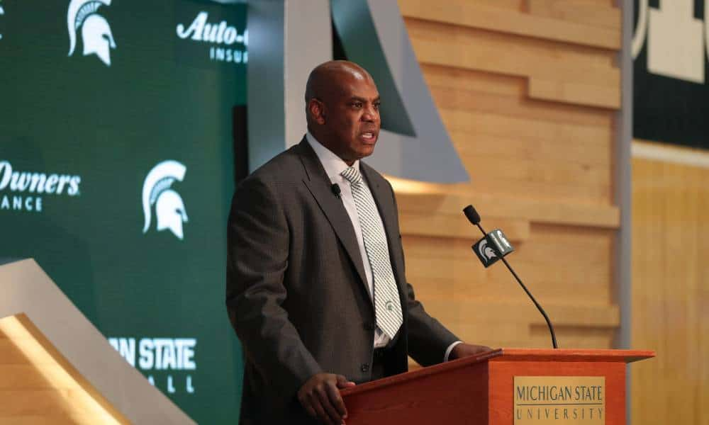 Mel Tucker tasked with resurrecting Michigan State football