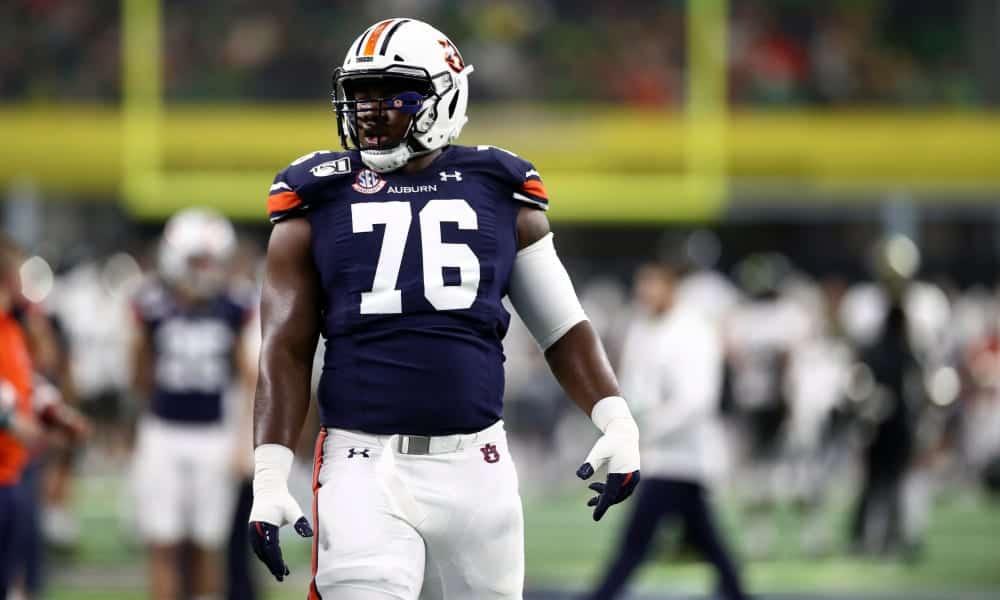 2020 NFL Draft Scouting Report: Auburn OT Prince Tega Wanogho