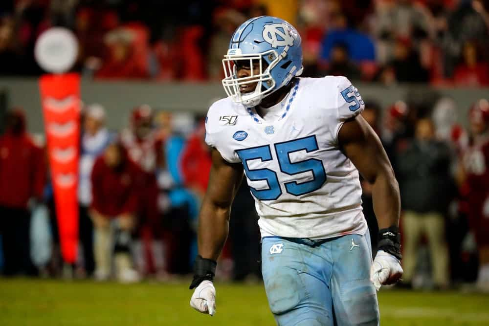 2020 NFL Draft Scouting Report: North Carolina DT Jason Strowbridge