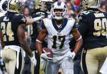 Rams wide receiver Robert Woods is the OSM consistency king