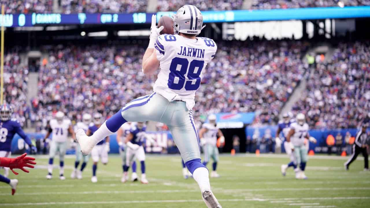 RAS: Cowboys TE Blake Jarwin is ready to make the leap in 2020 | PFN