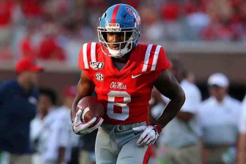 Elijah Moore, WR, Mississippi - NFL Draft Player Profile | PFN