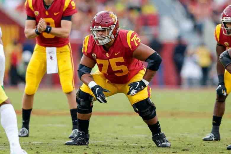 Alijah Vera-Tucker, OT, USC - NFL Draft Player Profile | PFN