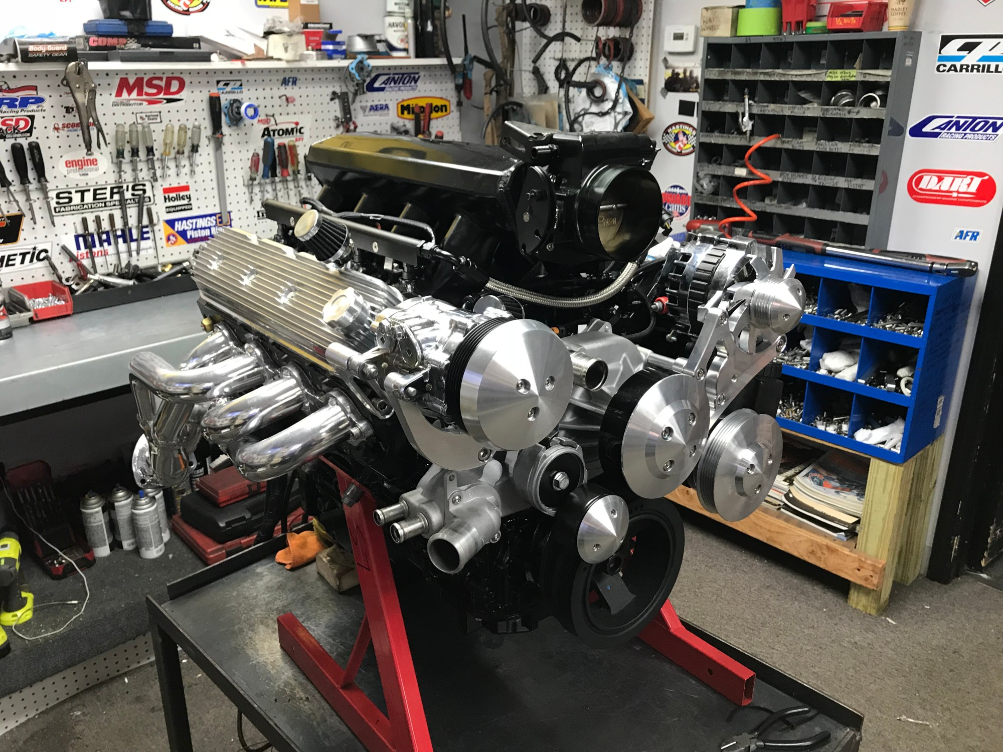 hight resolution of lq9 420ci 625hp complete crate engine