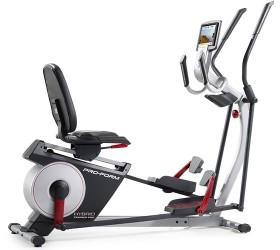 proform elliptical bike review