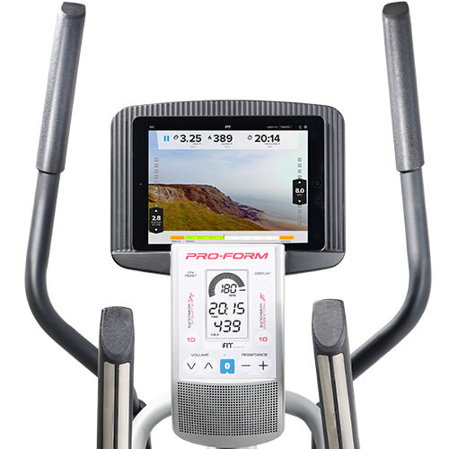 proform elliptical bike review with ifit live