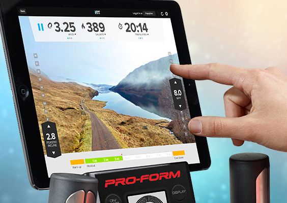 proform hybrid trainer benefits - tablet holder