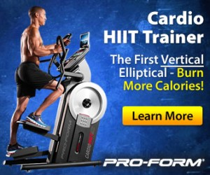 proform HIIT Trainer ceiling height