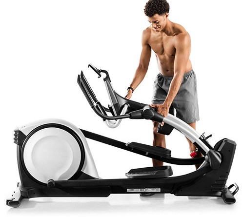 proform folding elliptical trainer