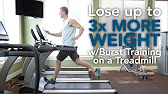 burst training on a treadmill