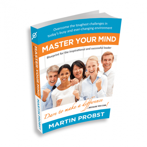 Master Your Mind - Paperpack edition - 3D Cover - Professional Development - Leadership Skills